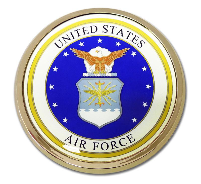 Air Force Seal Emblem Elektroplate