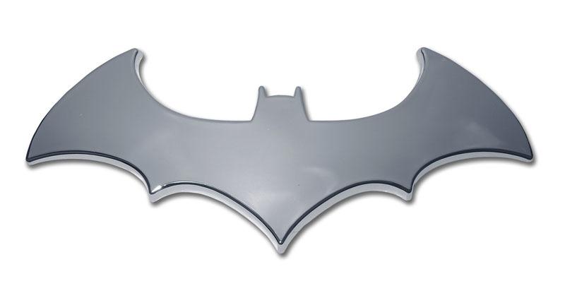 Batman Bat Chrome Emblem Elektroplate