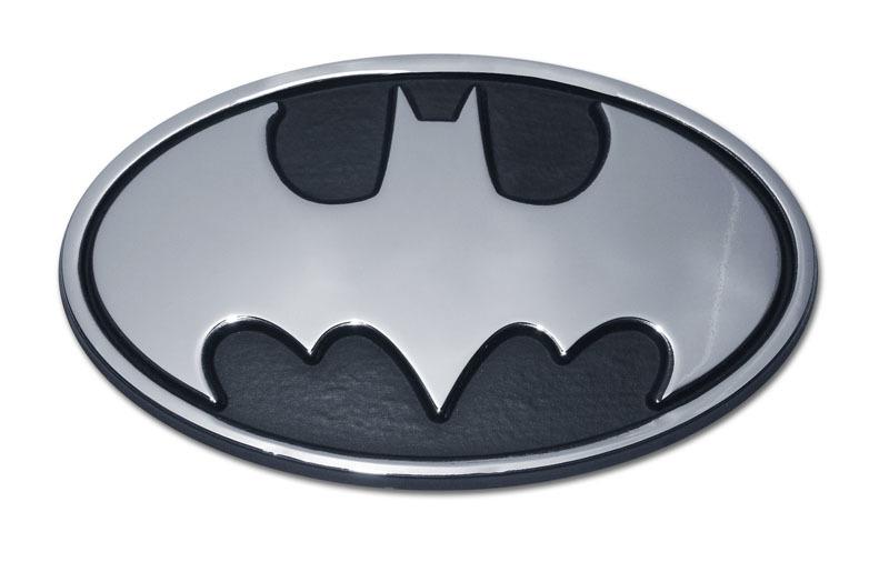 Batman Chrome Emblem Elektroplate