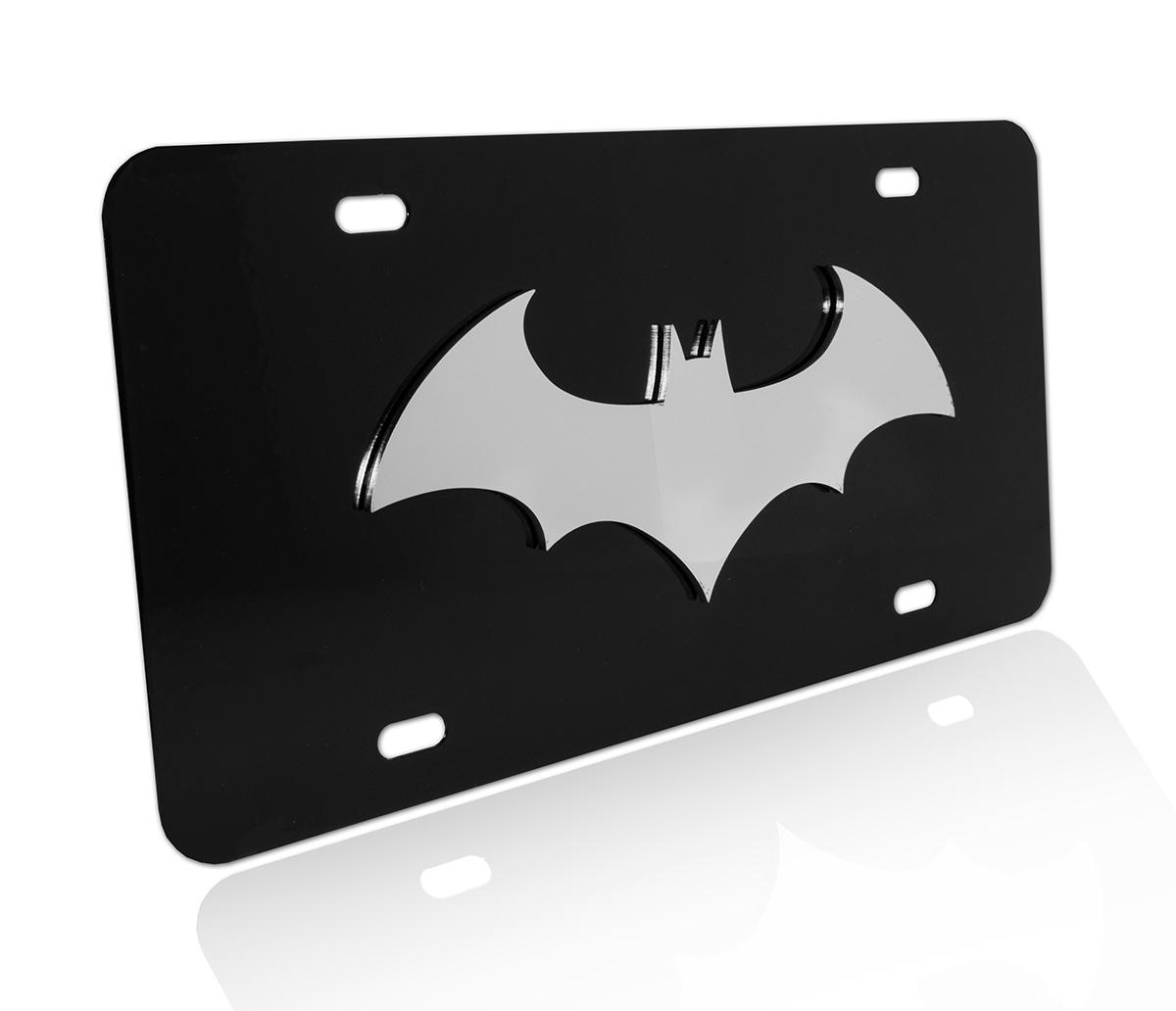 Yellow Batman License Plate Custom Made