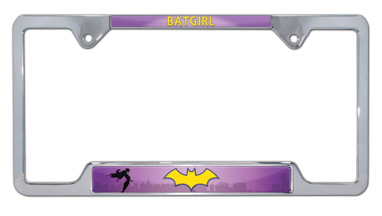 Property Of Batgirl Black METAL License Plate Frame