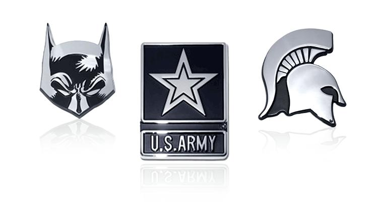 Chrome Auto Emblems image