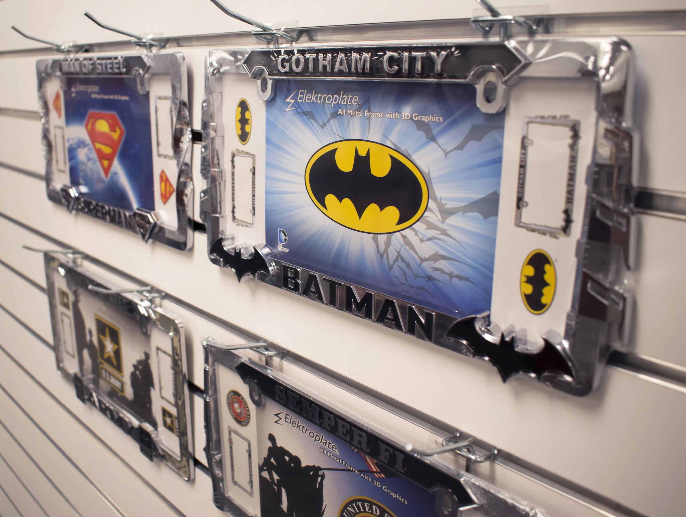 Batman GOTHAM CITY Custom License Plate Frame
