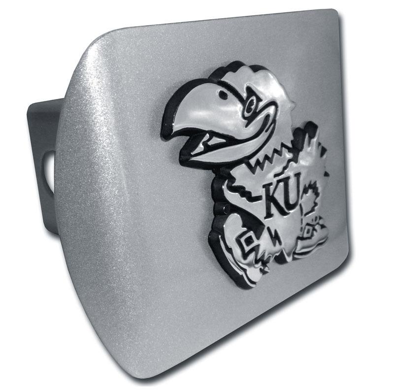 Elektroplate University of Kansas Jayhawks Alumni 3D Metal License Plate Frame