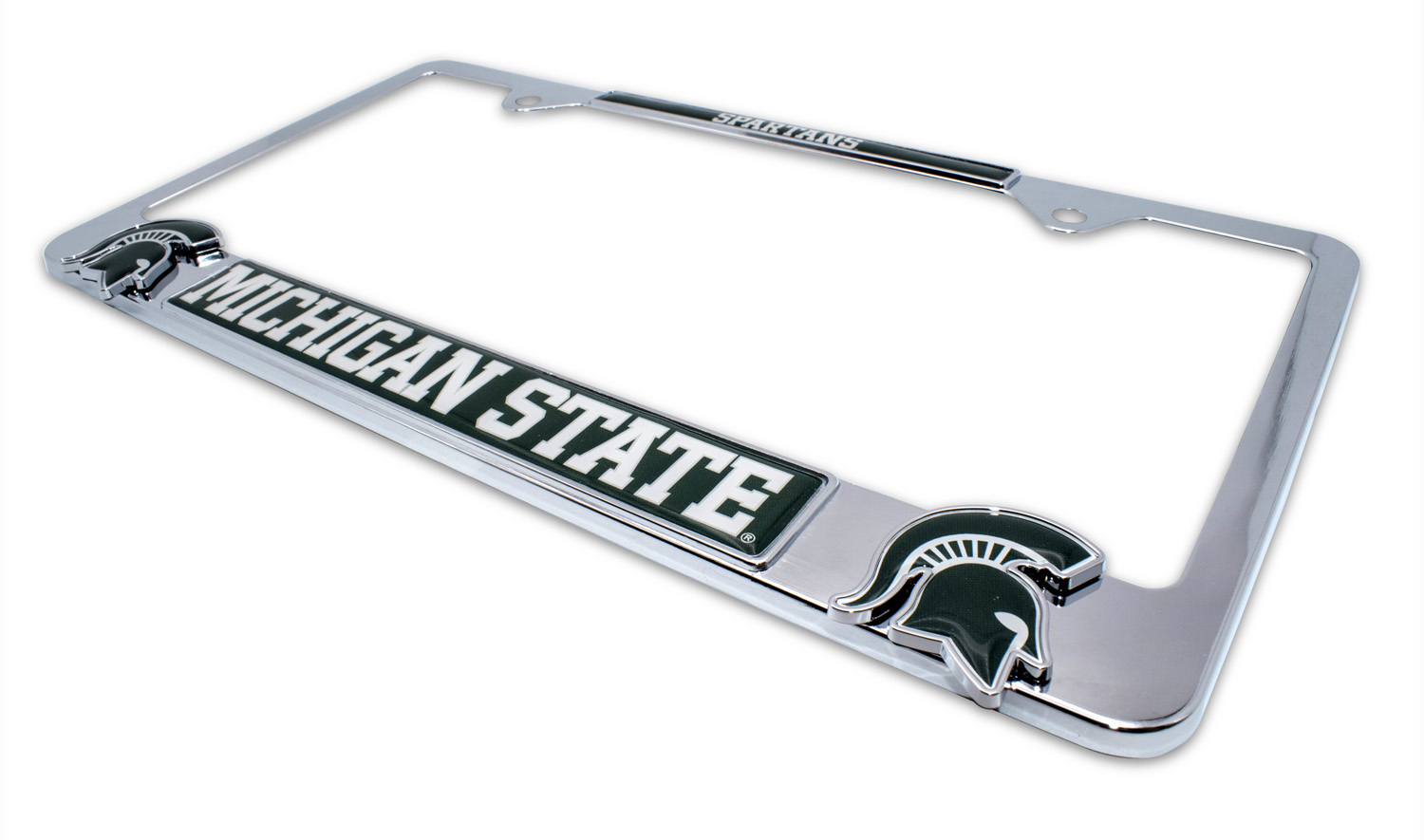 Michigan State Spartans 3D License Plate Frame | Elektroplate