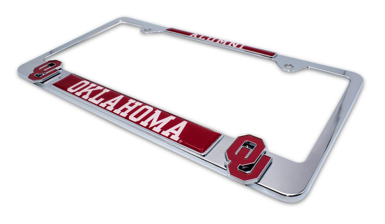 University Of Oklahoma Alumni 3d License Plate Frame