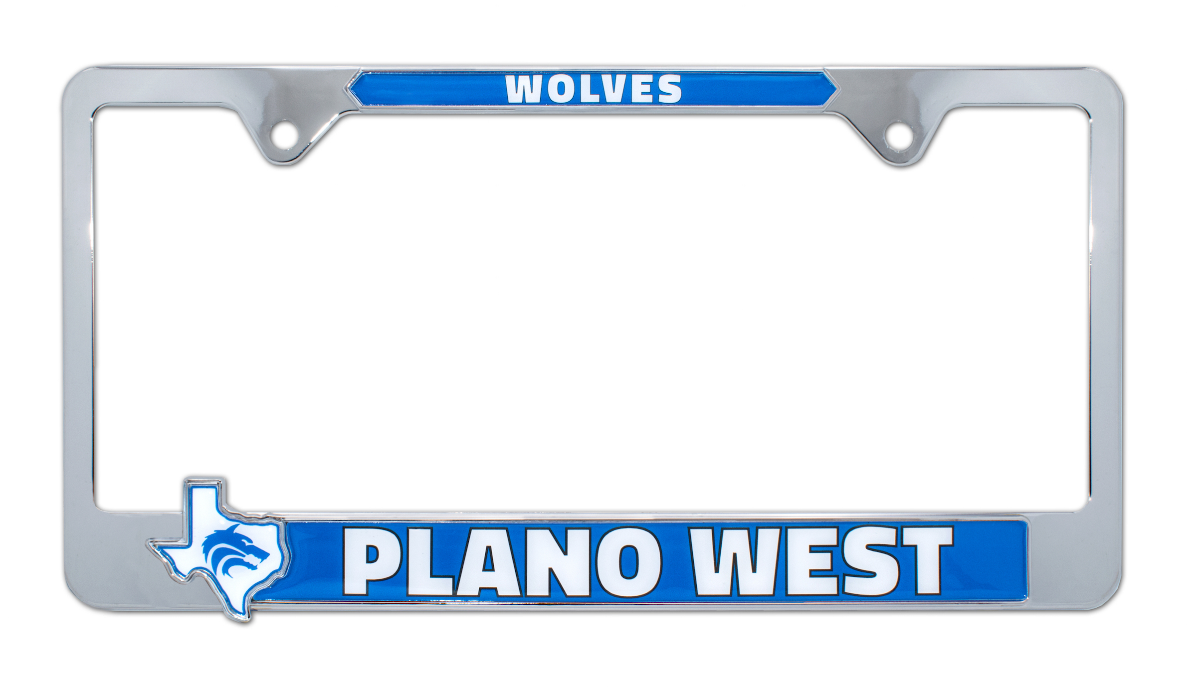 High Quality Metal License Plate Frames  (make up to $10 each one sold - Raise $3,000 for just selling 300)