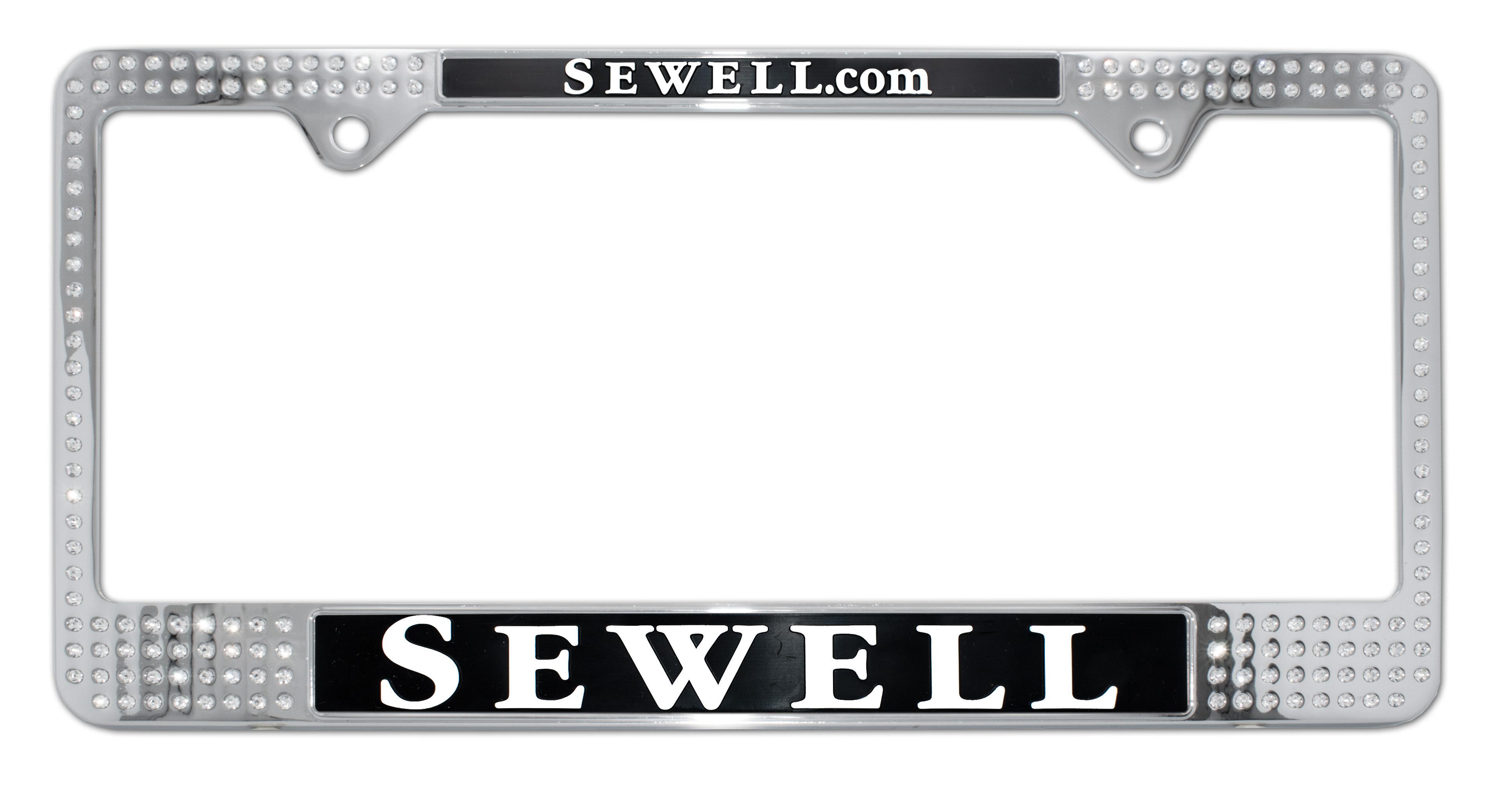 Custom License Plate Frames | Elektroplate