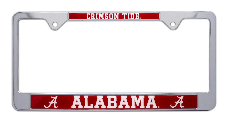 Alabama Crimson Tide License Plate Frame | Elektroplate