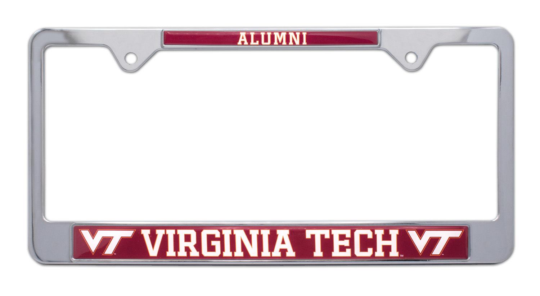 Virginia Tech Alumni License Plate Frame Elektroplate