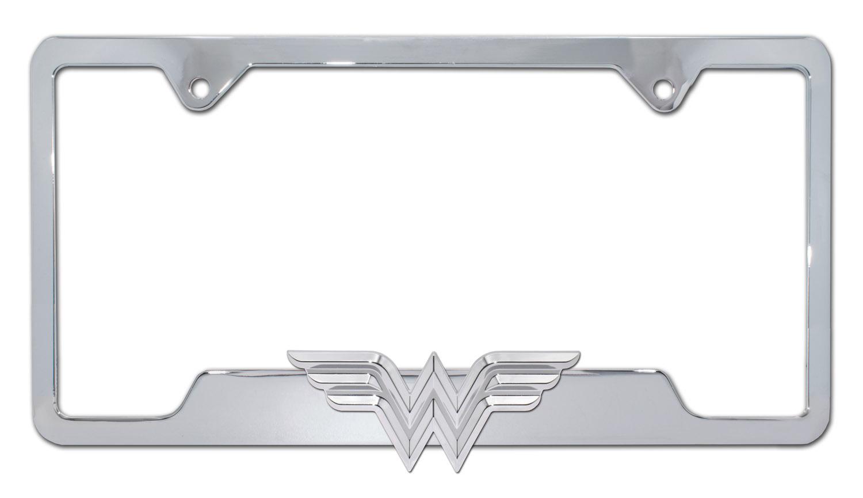 3D Chrome Auto Emblem Wonder Woman