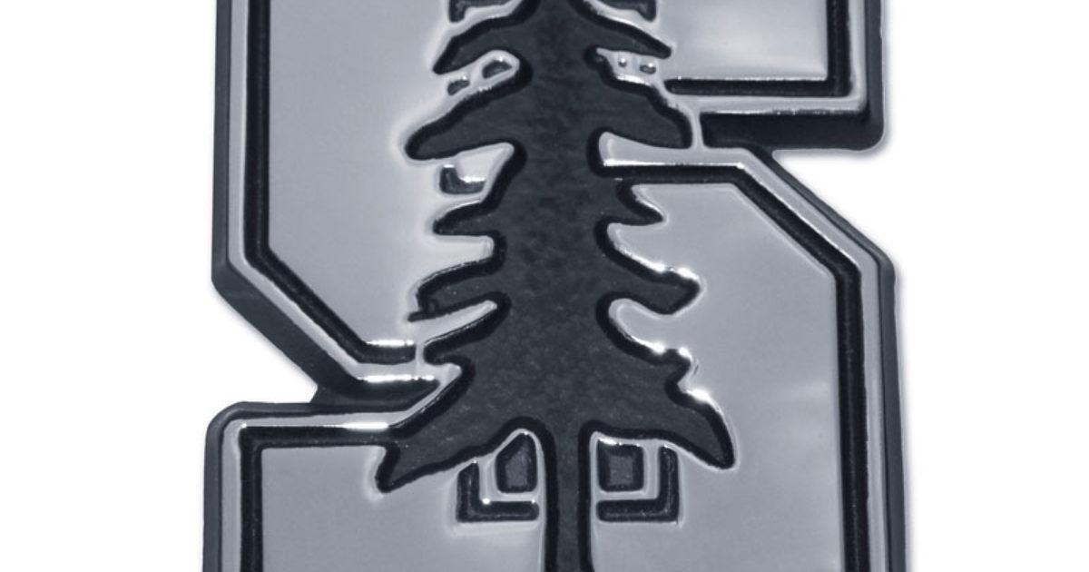 Stanford METAL Auto Emblem