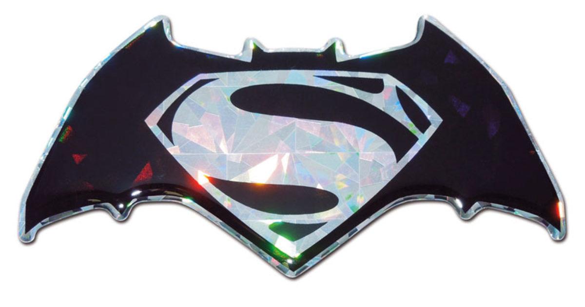 Elektroplate Batman v Superman Dawn of Justice Black Plastic Hitch Cover