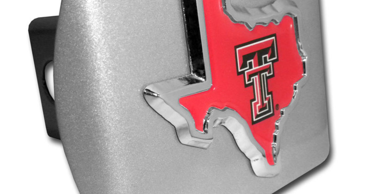 Elektroplate Texas Tech University TX Alumni 3D License Plate Frame