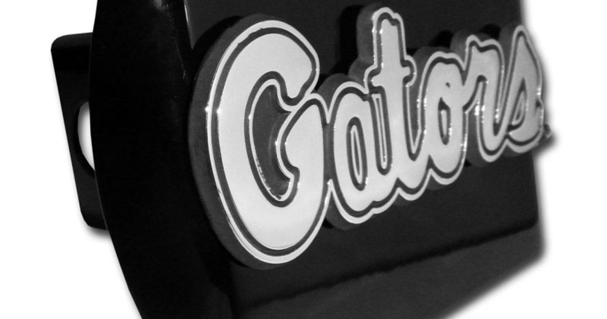 University of Florida Gators Crystal Metal Auto Emblem