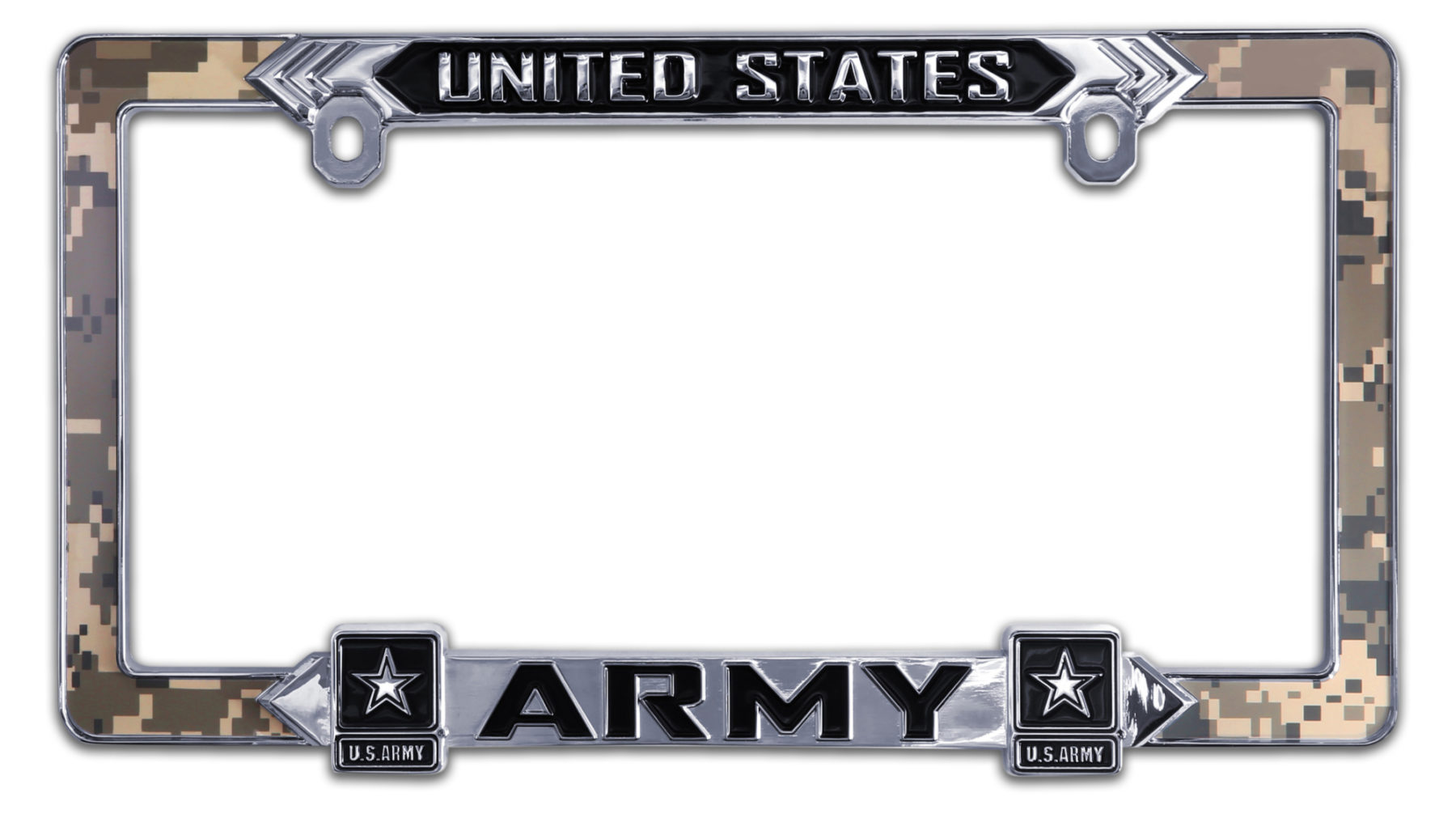Army 3D License Plate Frame | Elektroplate