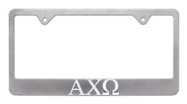 Alpha Chi Omega Matte License Plate Frame image