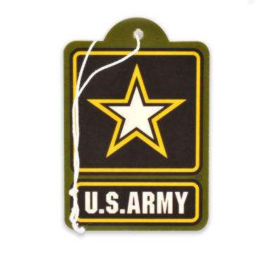 Army Star Air Freshener 2 Pack
