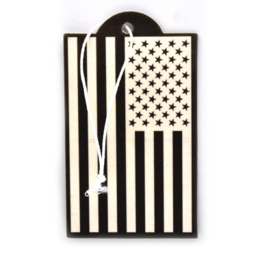 USA Flag Inverted Air Freshener 2 Pack image