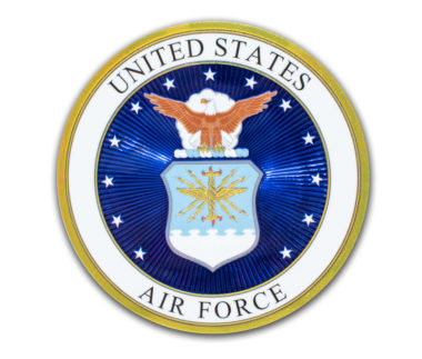 Premium Air Force Seal 3D Decal