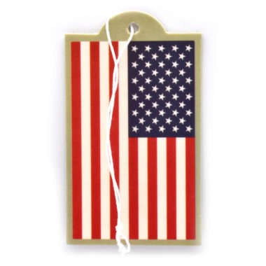 USA Flag Air Freshener 2 Pack