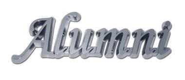 Alumni Shiny Chrome Emblem