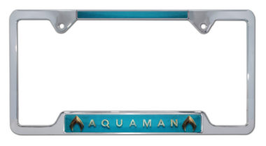 Aquaman Open License Plate Frame image