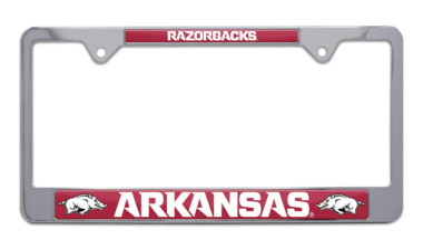 Arkansas Razorbacks License Plate Frame image