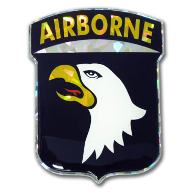 Army Airborne 3D Reflective Decal