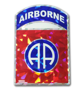 Army Airborne 3D Reflective Decal image