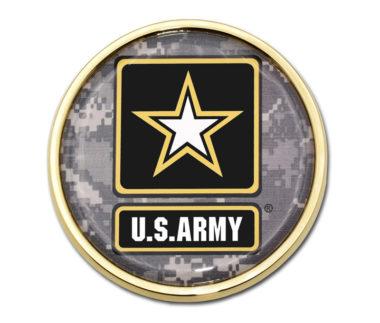 Army Camo Gold Emblem