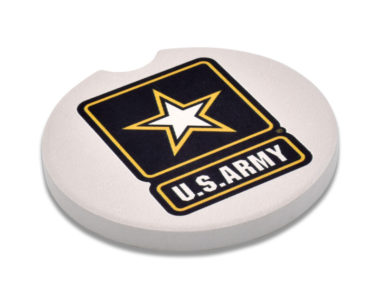 Army Car Coaster - 2 Pack