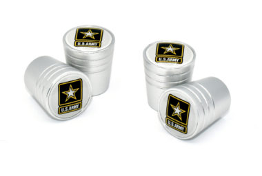 Army Valve Stem Caps - Matte Smooth