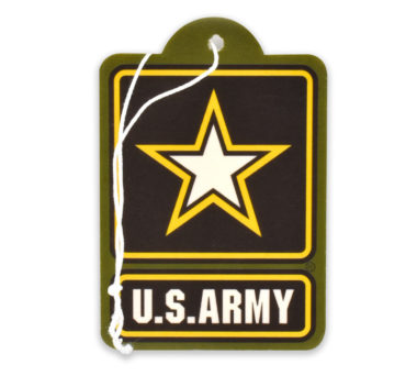 Army Star Air Freshener 6 Pack