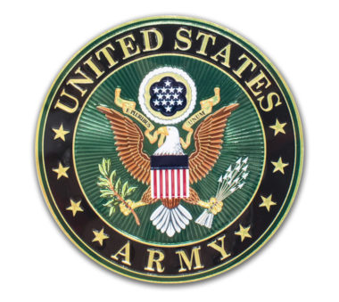 Premium Army Seal 3D Decal