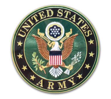 Premium Army Seal 3D Decal