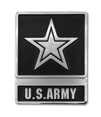 Army Chrome Emblem