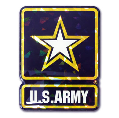 Army 3D Reflective Decal image