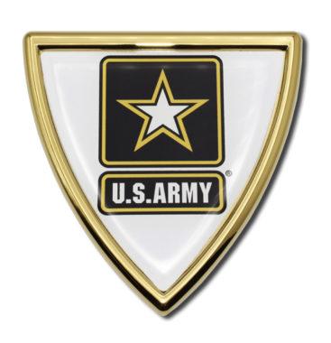 Army Shield Chrome Emblem image