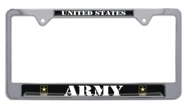 Full-Color Army US License Plate Frame