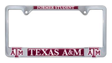 Texas A&M Alumni 3D License Plate Frame