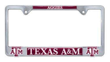 Texas A&M Aggies 3D License Plate Frame image