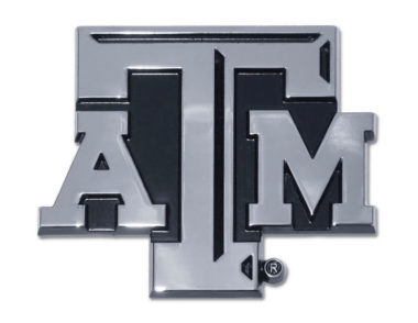 Texas A&M Chrome Emblem