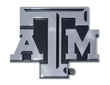 Texas A&M Chrome Emblem