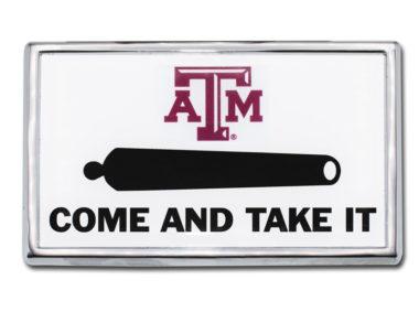 Texas A&M Cannon Chrome Emblem image