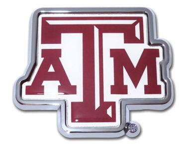 Texas A&M Color Chrome Emblem