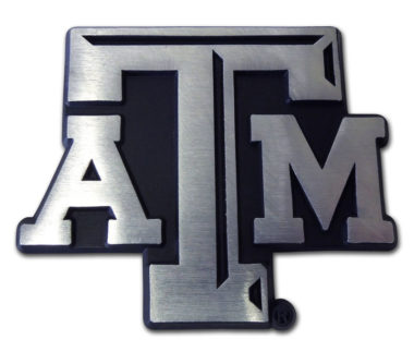 Texas A&M Matte Chrome Emblem image