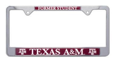 Texas A&M Alumni License Plate Frame