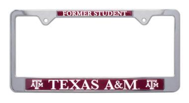 Texas A&M Alumni License Plate Frame