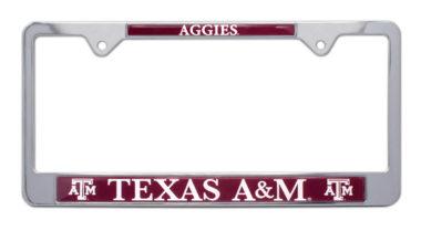 Texas A&M Aggies License Plate Frame image